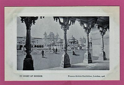 Three unposted Franco British Exhibition Official Postcards. 1908 London