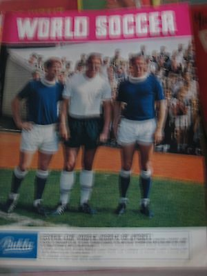 World Soccer Magazine December 1966