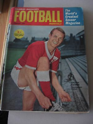 Charles Buchan's Football Monthly February 1963