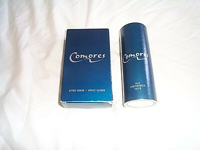 Vintage Avon Discontinued Comores  Mens Aftershave +Talc Both New
