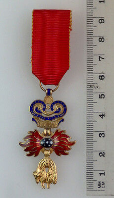 Austria – Hungary, Order of the Golden Fleece miniature for on civil suite