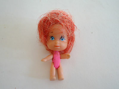 """Vintage LIDDLE KIDDLES DOLL Red Hair Philppines 2"""" Mattel"""