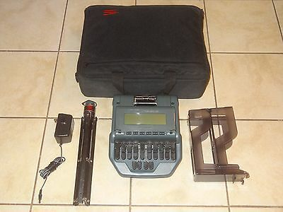 Stenograph Stentura 8000 Professional Court Reporter Writer with Accessories