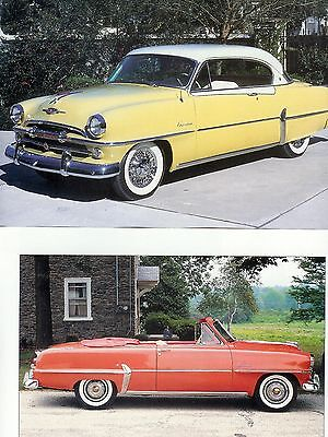 1953 -1954 PLYMOUTH 14 pg Color Article Cranbrook Belvedere