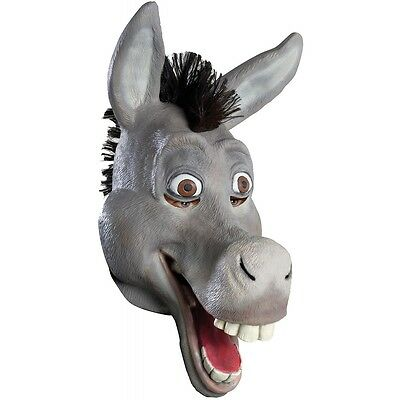 Donkey Mask Adult Shrek Costume Halloween Fancy Dress