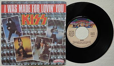 "KISS 'I Was Made For Lovin' You' 1979 French 7""/45 rpm, SCARCE 1ST PRESSING"
