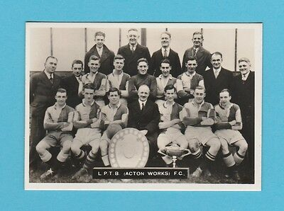 Football - Ardath - Southern Football Team  - L.p.t.b. (Acton Works) F.c. - 1936