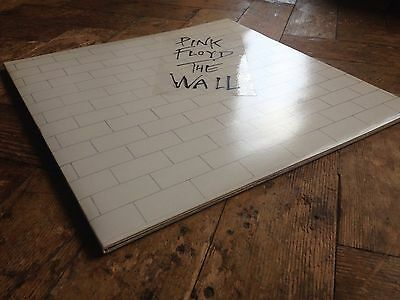 PINK FLOYD THE WALL UK 1979 HARVEST 1st PRESS 2xLP INNERS STICKER COMPLETE NM/M-