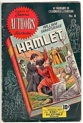 Stories by Famous Authors Illustrated #8  RARE OCt 1950 10c GOLDEN AGE Comics