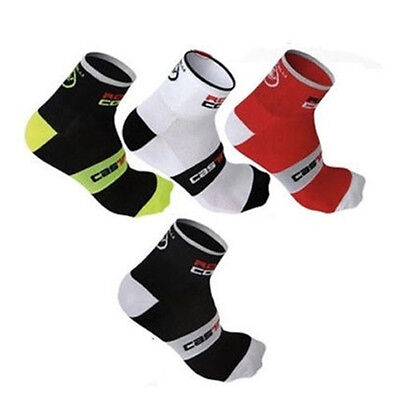 Running Outdoor High Elasticity Ankle-high Cycling Riding Socks Wearproof