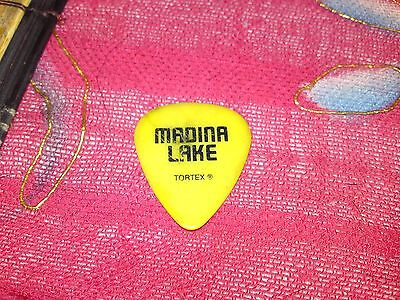 Madina Lake Personal Band Plectrum Used@download Festival 2011