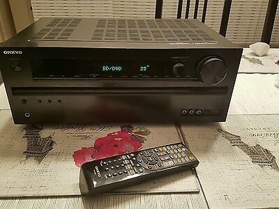 Onkyo TX-NR414 5.1-channel home theater receiver, Internet-ready
