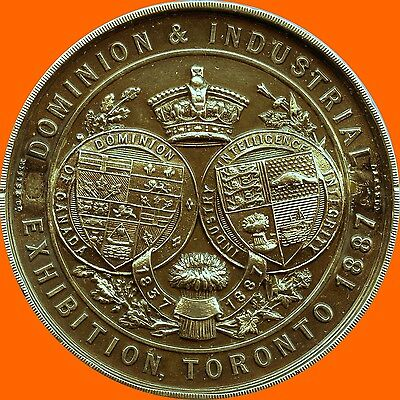 1887 Toronto Dominion & Industrial Exhibition (39.6 Grams 38 mm x 5 mm)
