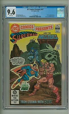 DC Comics Presents 47 (CGC 9.6) White pages; 1st app. He-Man in comics (c#12841)