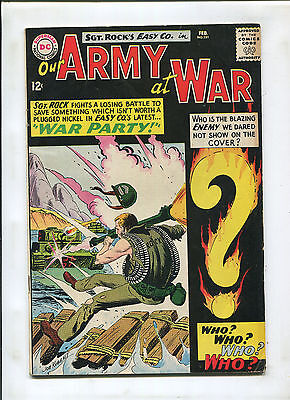 Our Army At War #151 (6.5) 1St Appearance Of Enemy Ace! Key!