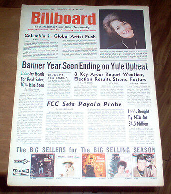 Billboard Magazine 1964  Beach Boys #1 Album The Beatles Article and LP Review