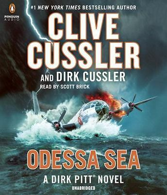 Clive Cussler ODESSA SEA Unabridged 10 CDs 12 Hours *NEW* FAST Ship!