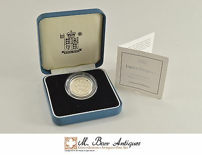 2002 Great Britain Silver Proof 1 Pound Coin *0207