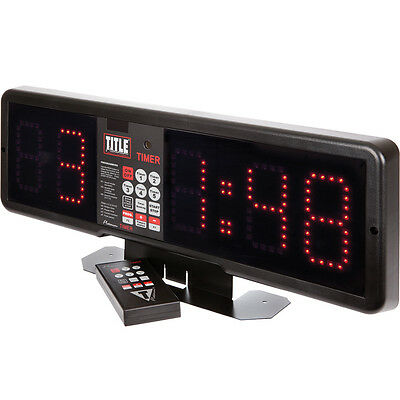 Title Boxing Platinum Professional Fight & Gym Timer