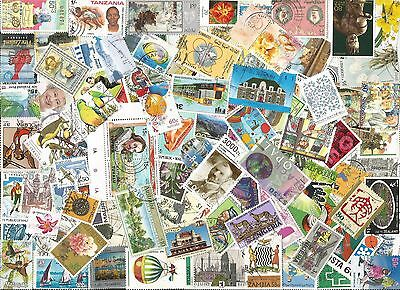 1/4 POUND ALL WORLD SELECTION inc COMMONWEALTH OFF PAPER STAMPS E245
