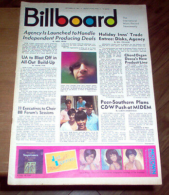Billboard Magazine 1965 Beatles #1 LP David Bowie Hollies Easybeats Small Faces