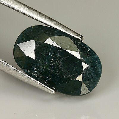 6.59 Ct Natural Rare HUGE Unheated Green GRANDIDIERITE OVAL @See Sample Certy !!