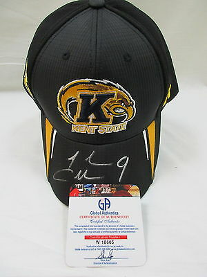 Josh Cribbs Cleveland Browns Kent State Signed Autographed Hat GA COA