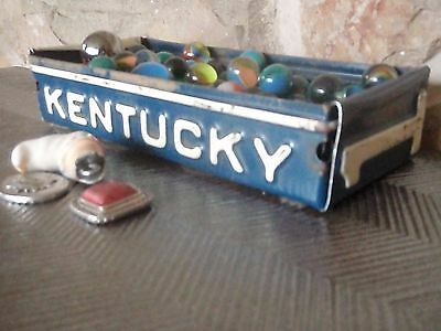 Rustic Kentucky License Plate Box - Free Shipping -