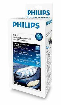 Philips Headlight Restoration COMPLETE KIT WITH UV protection to restore CLEANS