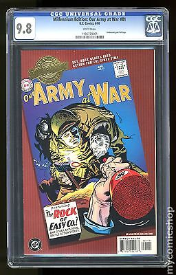 Millennium Edition Our Army at War (2000) #81 CGC 9.8 (1136739001)