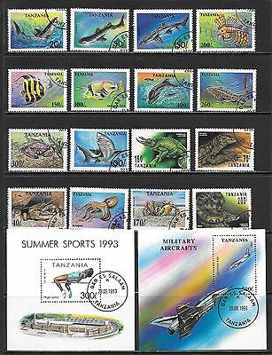 TANZANIA Very Nice Mint / CTO / Used Issues Selection (Dec 0415)