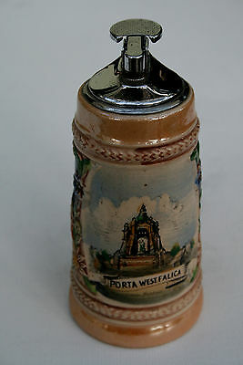 German Stein Porta Westfalica Refillable Cigarette Lighter