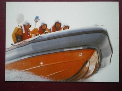 Postcard Teignmouth Atlantic 21 Lifeboat Off The Ness
