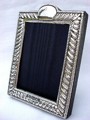 Classic Finest Quality Silver, 999 London Britannia Hallmarked Photo Frame.