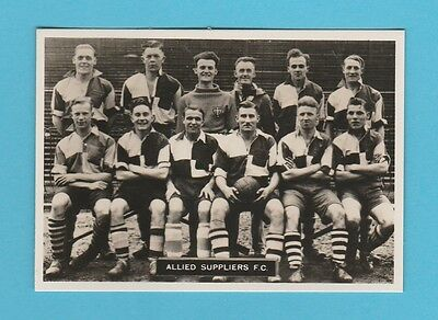 Football - Ardath - Southern Football Team  - Allied  Suppliers  F.c. - 1936