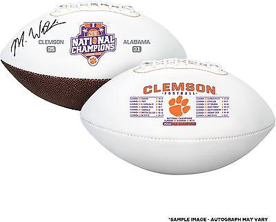 Autographed Mike Williams (Clemson Tigers) Clemson Football Item#6740904