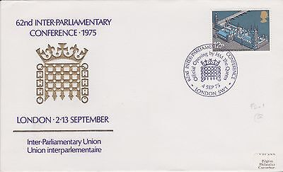 Gb Stamps First Day Cover 1975 Parliament Open By Queen Souvenir Rares Collectio