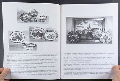 Antique Historical Staffordshire Transferware Pottery - The Stearns Collection