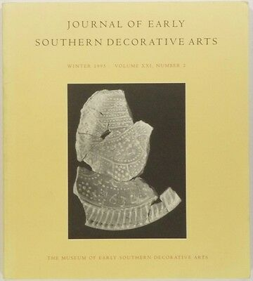 Antique Virginia Folk Pottery Issue @ Journal of Early Southern Decorative Arts