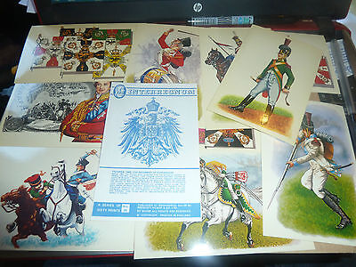 Interregnum Trade Card/stickers-Napoleonic War - All Listed-