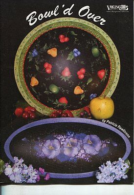 PAINTING BOOK - BOWL'D OVER by Patricia Rawlinson