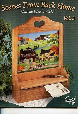 PAINTING BOOK - SCENES FROM BACK HOME VOL 3 by Marsha Weiser