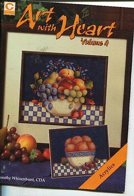 PAINTING BOOK - ART WITH HEART Volume 4 by Dorothy Whisenhunt