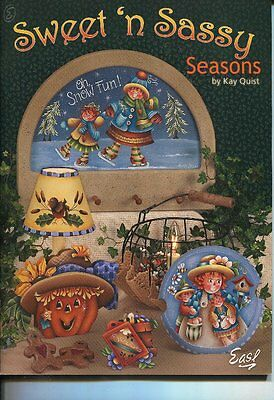 """PAINTING BOOK - SWEET """"N SASSY by Kay Quist"""
