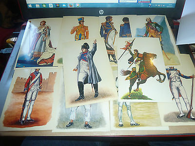 INTERREGNUM TRADE CARD/STICKERS-NAPOLEONIC WAR - ALL LISTED-lot 1