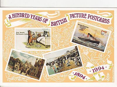 004 - A HUNDRED YEARS OF BRITISH POSTCARDS 1894-1994 - 1939-1965 Designs