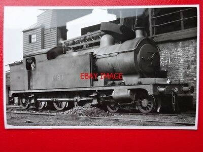 Photo  Lner Ex Ner Class A7 4-6-2T Loco No 1181 On Shed At West Hartlepool