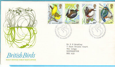 1980 BRITISH BIRDS   First Day cover