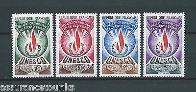 FRANCE SERVICE - 1969-71 YT 39 à 42 - TIMBRES NEUFS** LUXE
