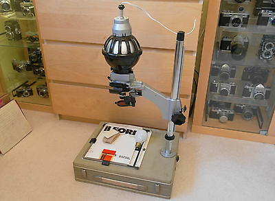 Vintage Zenith portable 35mm Russian enlarger and accessories